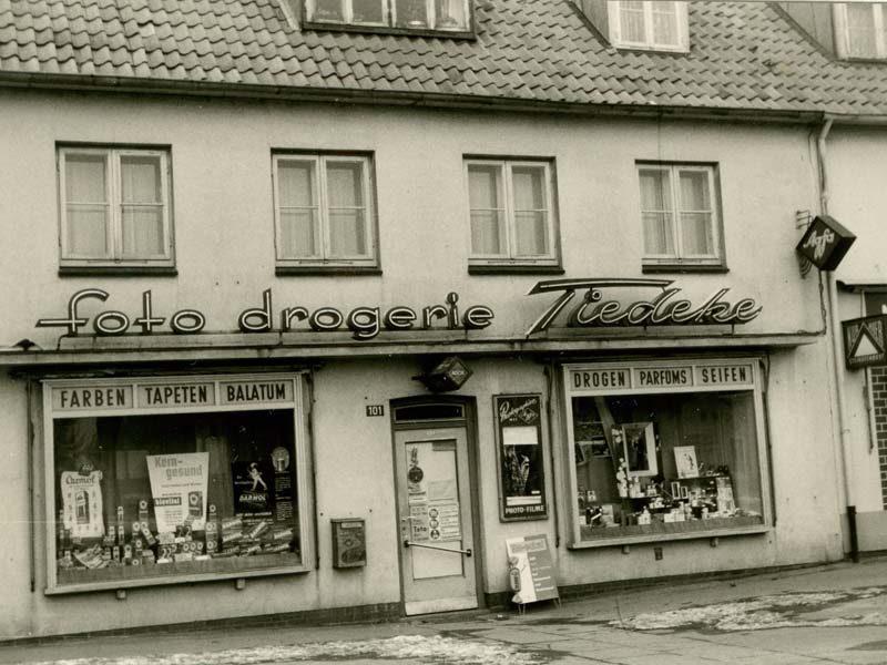Foto Drogerie Tiedeke Hamburg Historisch