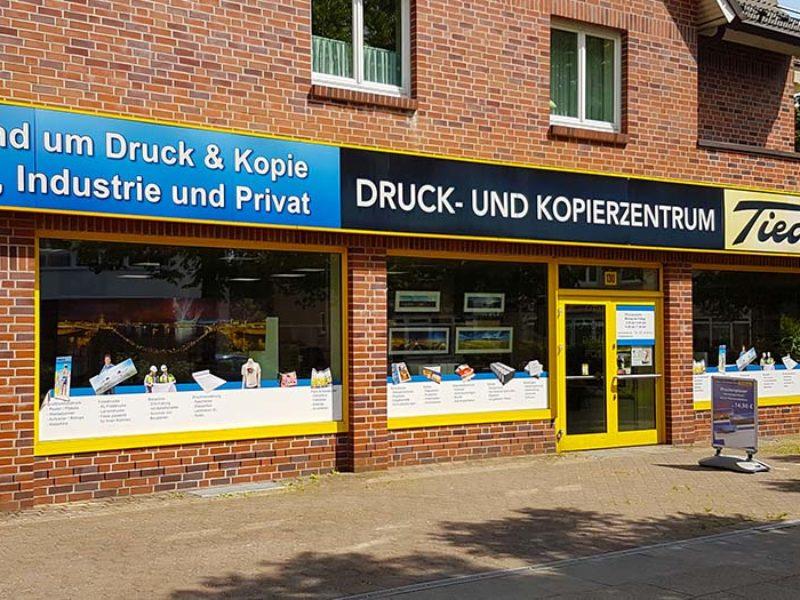 Druck- und Kopierzentrum Copyshop Druckerei Tiedeke Hamburg Laden 2018
