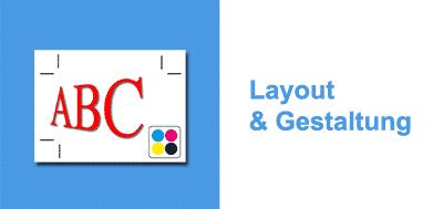Layout und Gestaltung