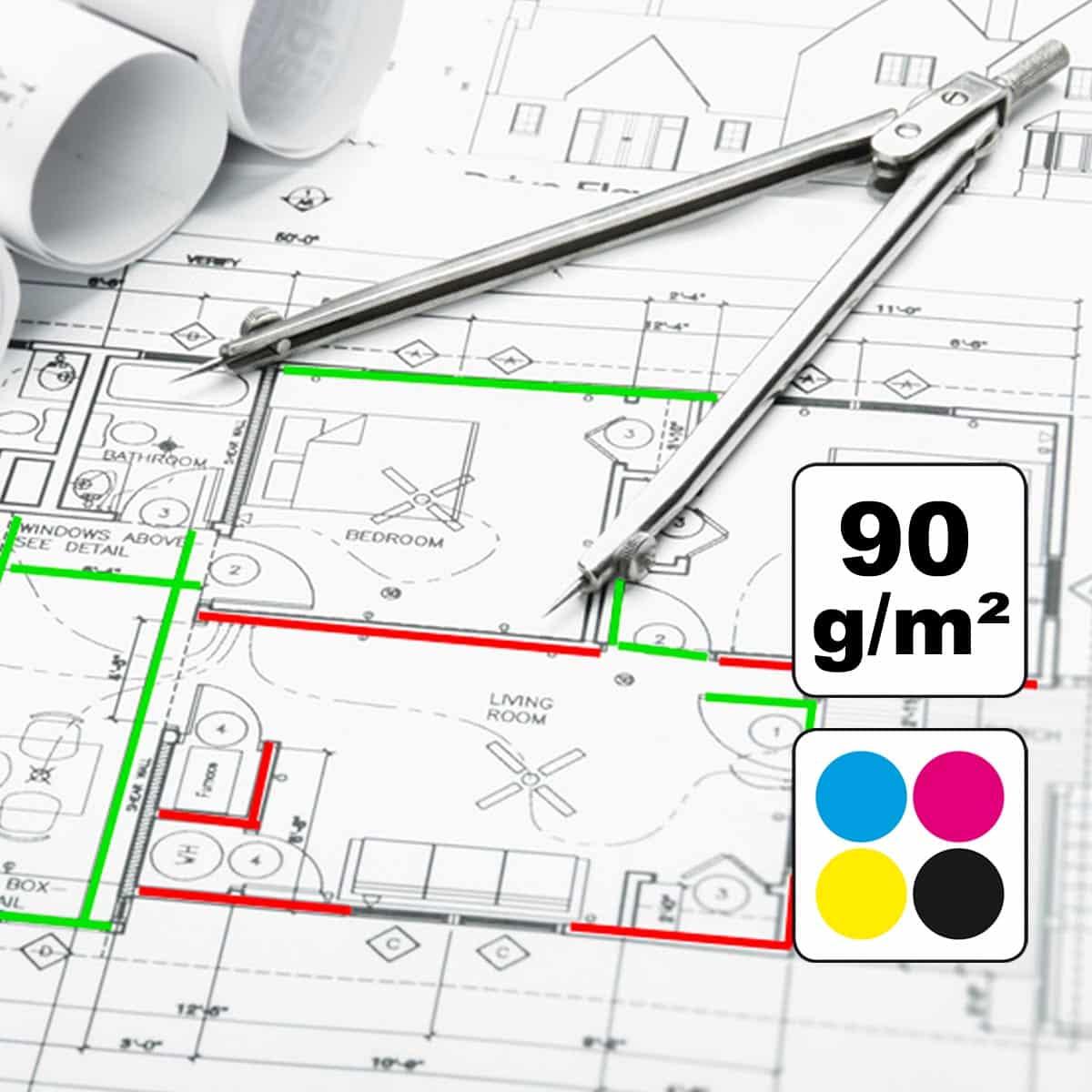 CAD Plot GIS Plot Architekturzeichnung Plotservice