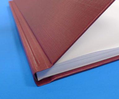 Hardcover-Klemmbindung