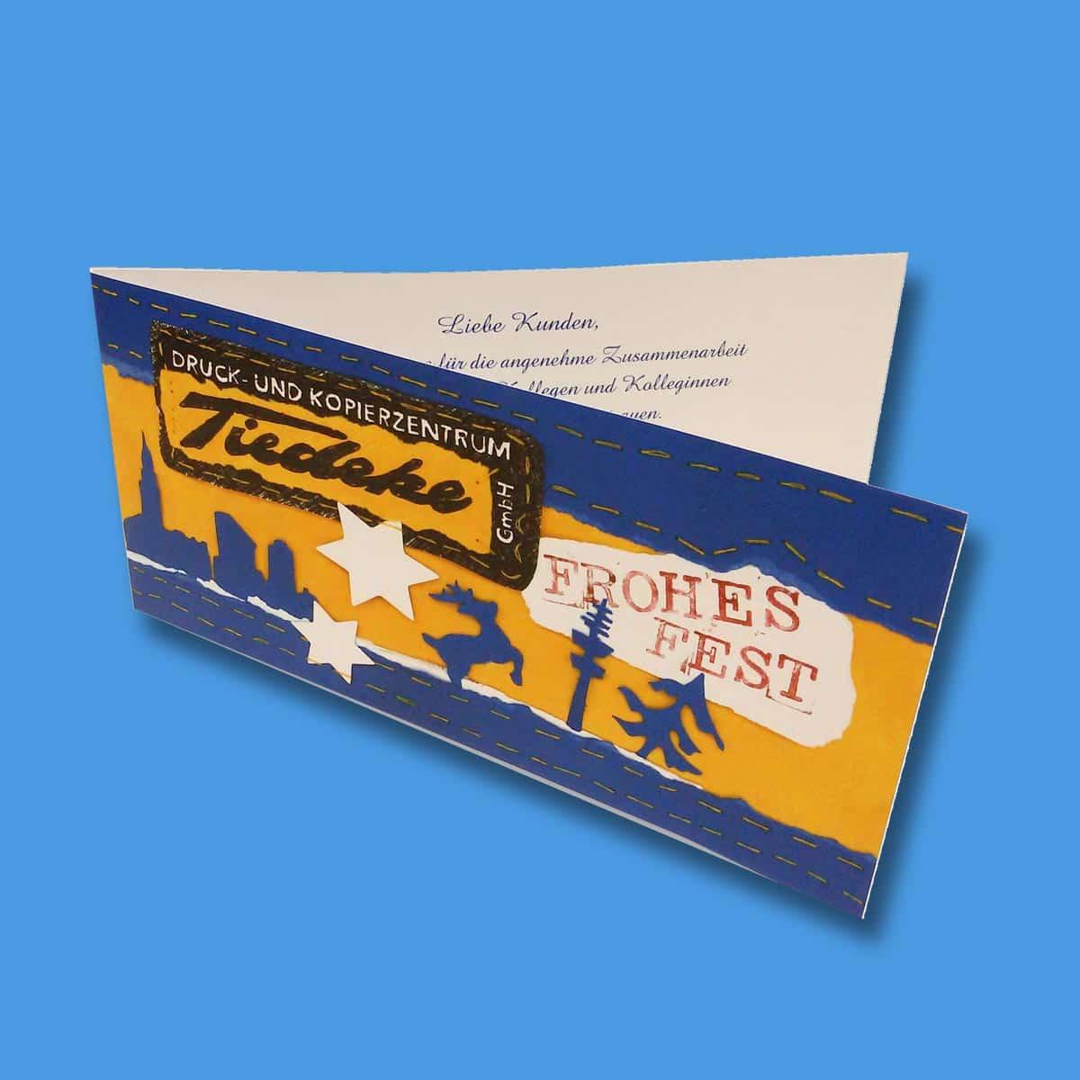 Einladungskarten drucken Hamburg Klappkarten