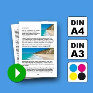 PDF-Druckservice