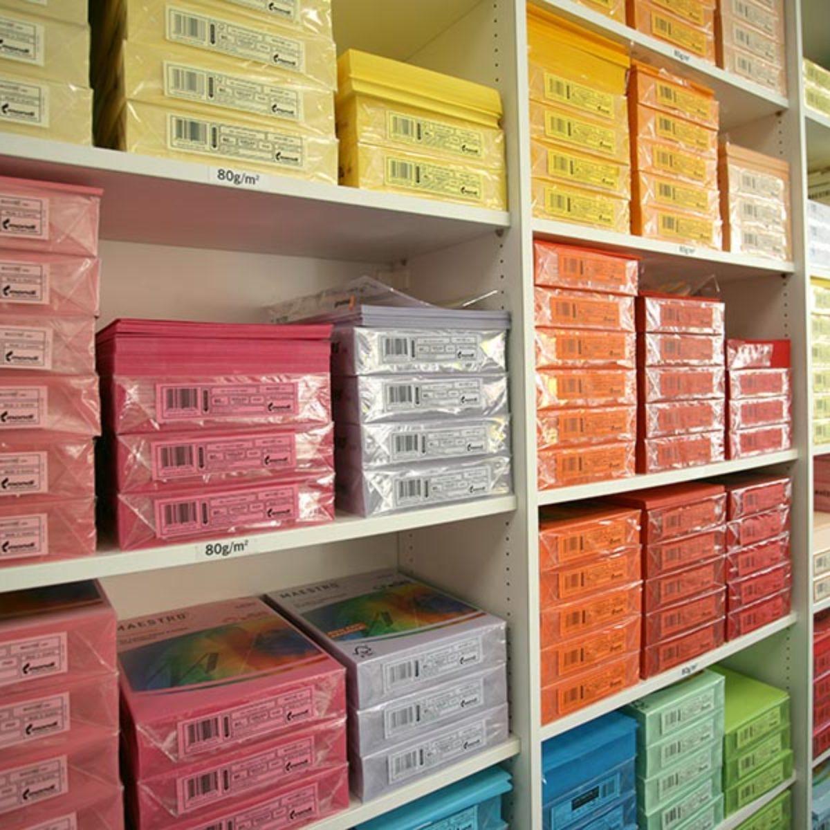 Unsere große Papierauswahl im Druck- und Kopierzentrum Tiedeke in Hamburg Wandsbek Farmsen