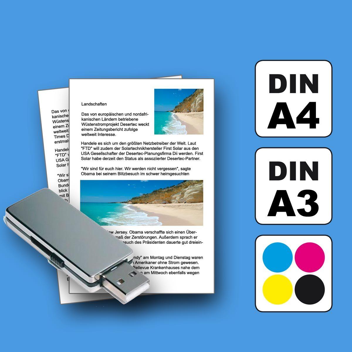 SB kopieren und ausdrucken Selbstbedienung Copyshop