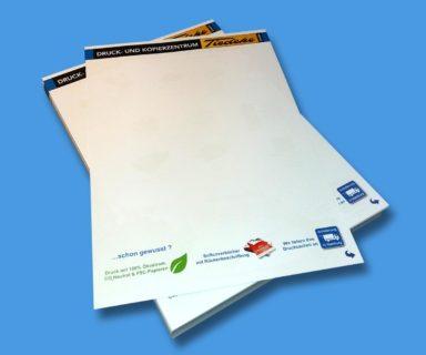 Briefpapier drucken