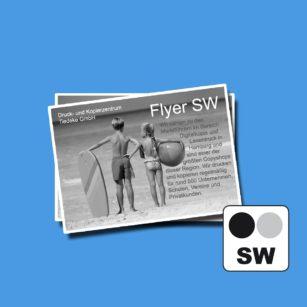 Schwarzweiss Flyer